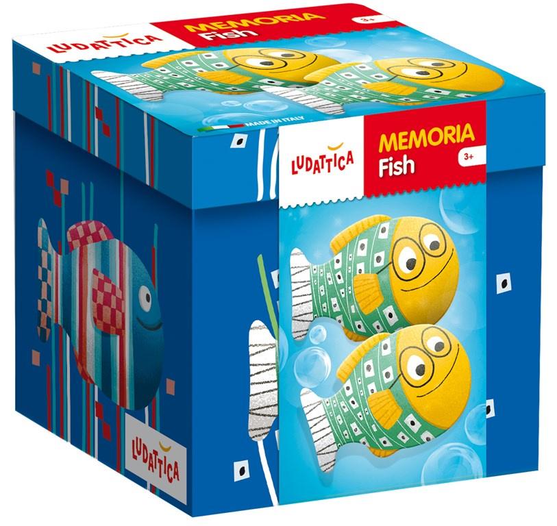 Игра мемори Ludattica Рыбки (20 пар карточек)
