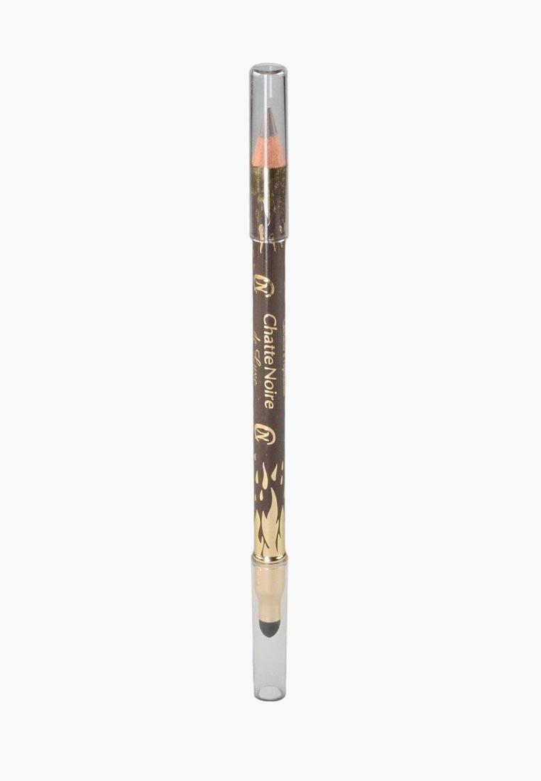 цена Карандаш для век De Luxe Chatte Noire 20609 №309 серо-коричневый 1,75 онлайн в 2017 году