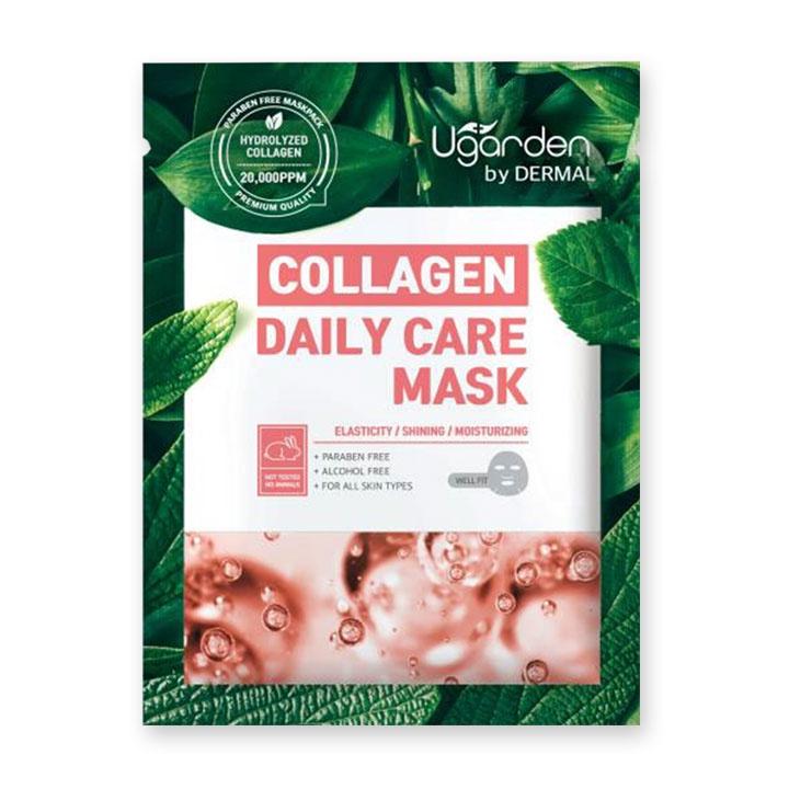 Маска косметическая UGARDEN Маска для ежедневного ухода с Коллагеном, 23 маска косметическая limoni маска лифтинг для лица с коллагеном 20 гр