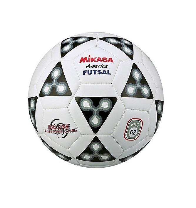 Мяч футбольный Mikasa FSC-62, белый, черный цена