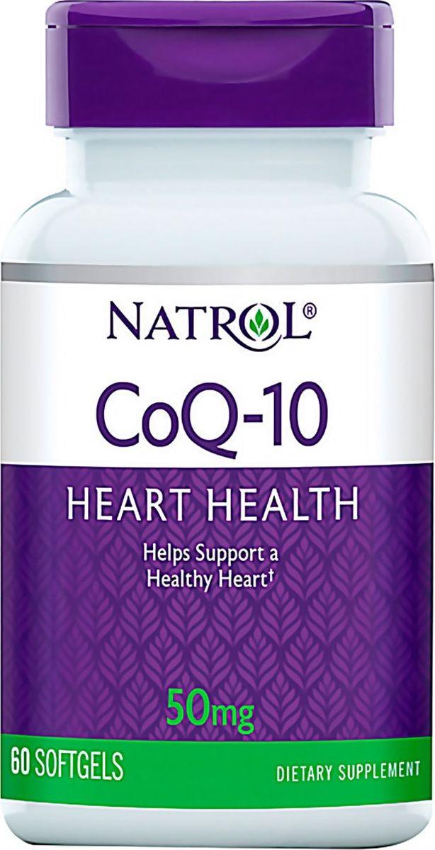 Коэнзим Q-10 Natrol, 60 капсул цена