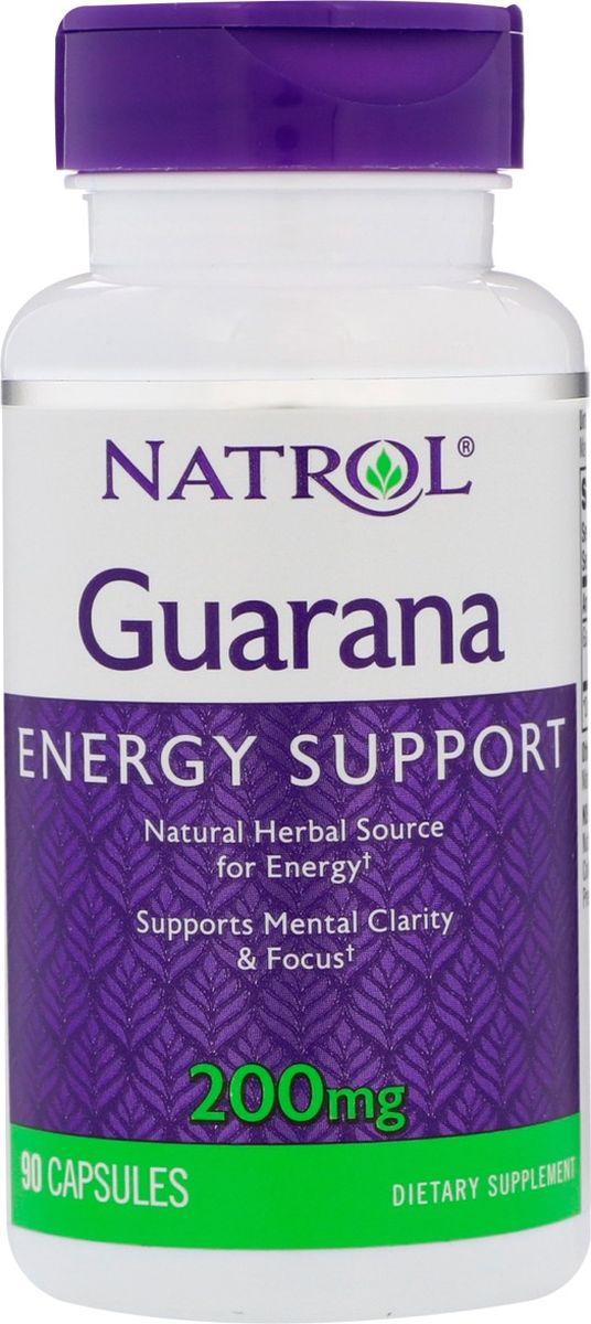 Энергетик Natrol Гуарана, 90 капсул цена