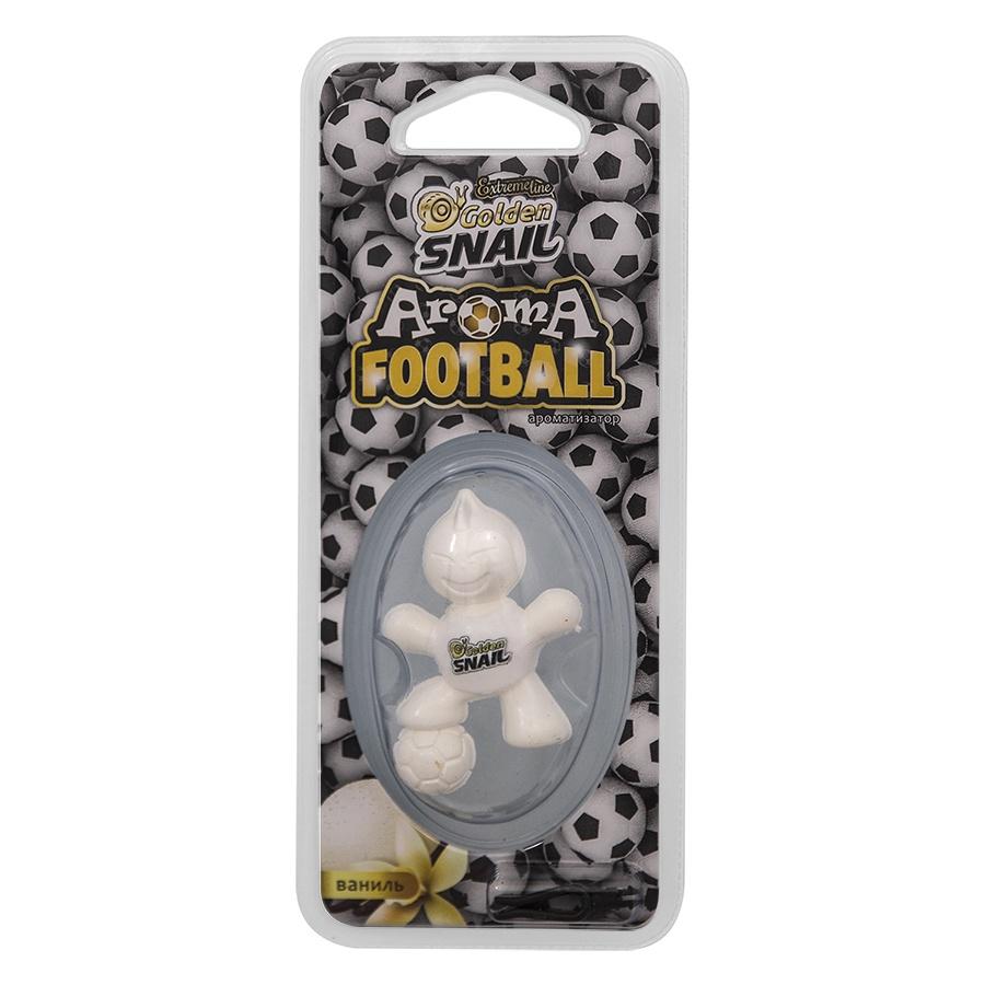 Автомобильный ароматизатор Golden Snail Aroma Football, Ванильный крем автомобильный ароматизатор golden snail aroma football ванильный крем