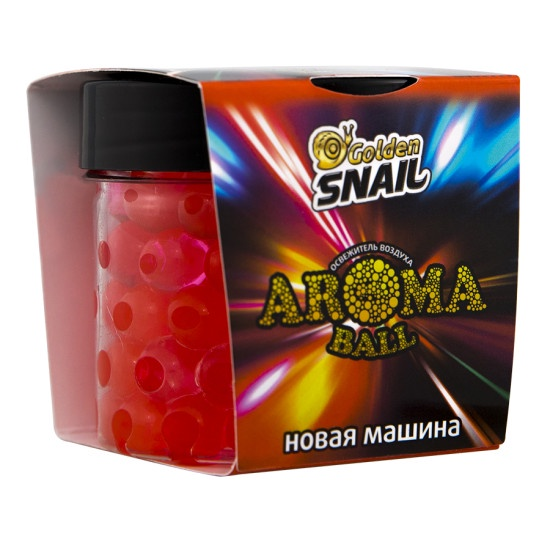 Автомобильный ароматизатор Golden Snail жемчуг_Новая машина автомобильный ароматизатор golden snail жемчуг черный лед