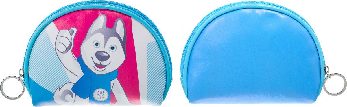 Кошелек Robin Ruth Universiade, BW005-A, белый, голубой брелок ключница robin ruth цвет черный khg048 a