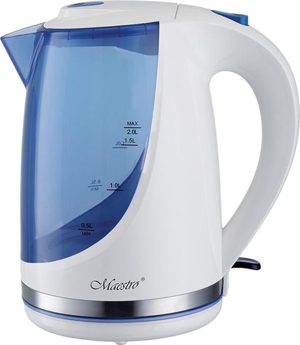 Фото - Электрический чайник Maestro, MR-044, синий, фиолетовый электрический чайник maestro mr 029new серебристый