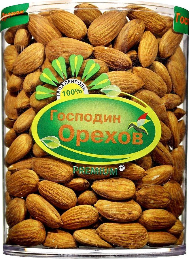 Миндаль Господин орехов, 350 г, туба грецкий орех господин орехов 180 г