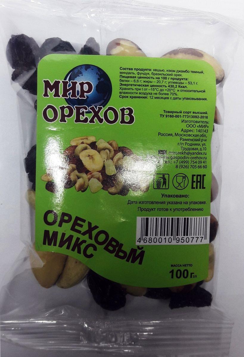 Смесь Мир орехов Ореховый микс, 100 г