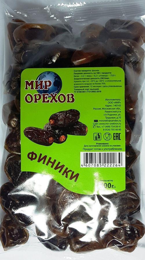 Финики Мир орехов, 500 г