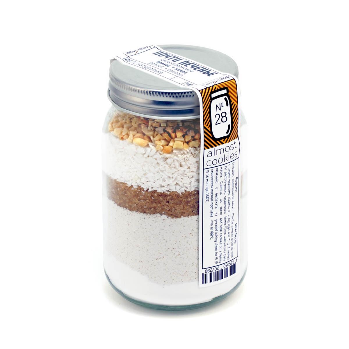 Смесь для выпечки Почти Печенье Арахис + кокос смесь для выпечки почти печенье 40 700