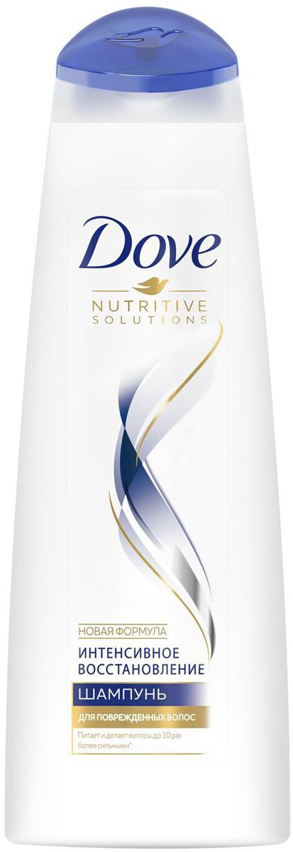 Dove шампунь Hair Therapy Интенсивное восстановление, 380 мл