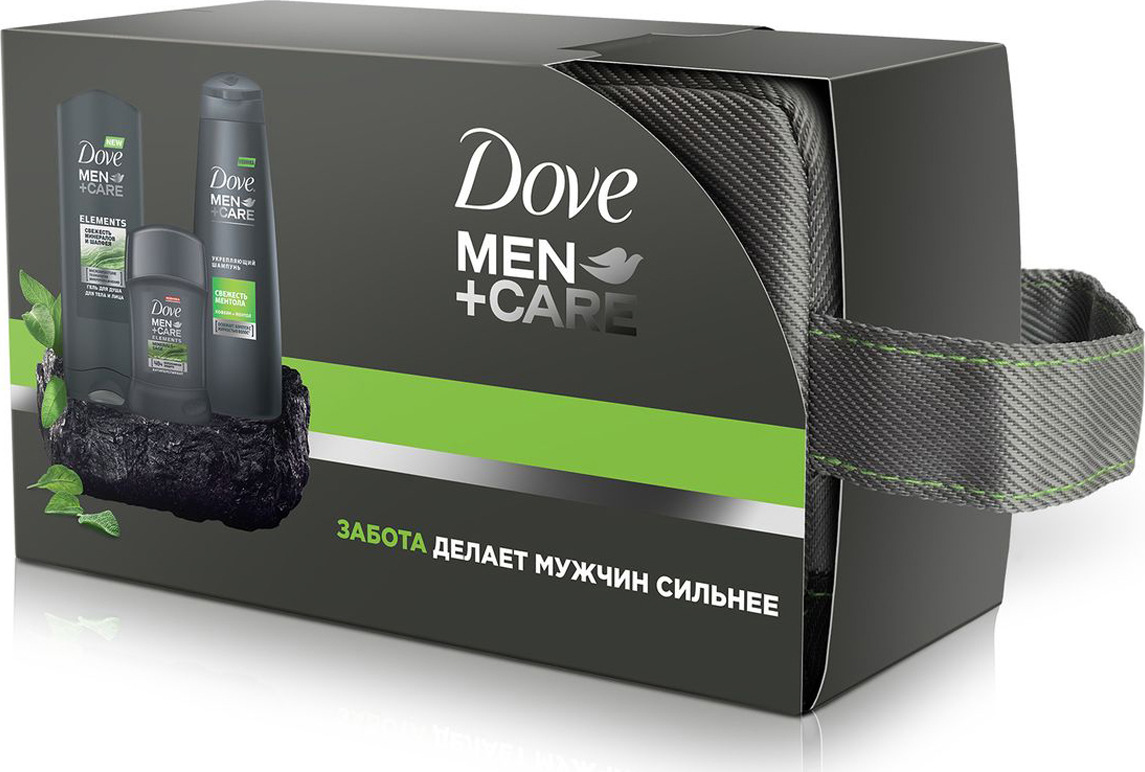 dove антиперспирант карандаш невидимый dove 40 мл Dove подарочный набор Men+Care энергия свежести