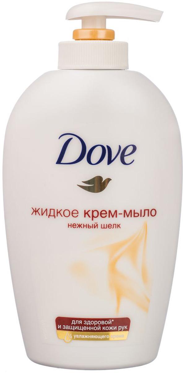 Dove Жидкое крем-мыло Нежный шелк 250 мл