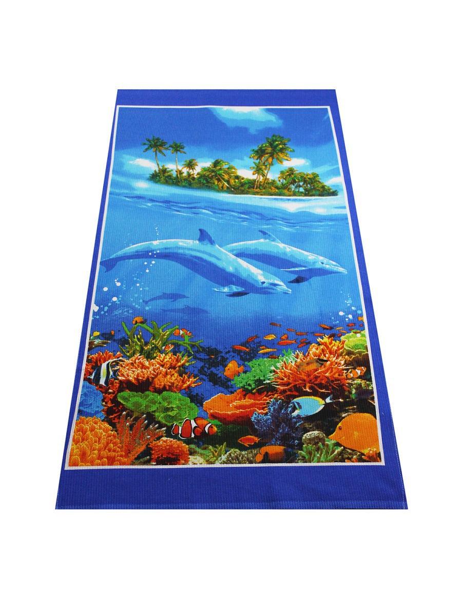 Полотенце для пляжа Камея Дельфин