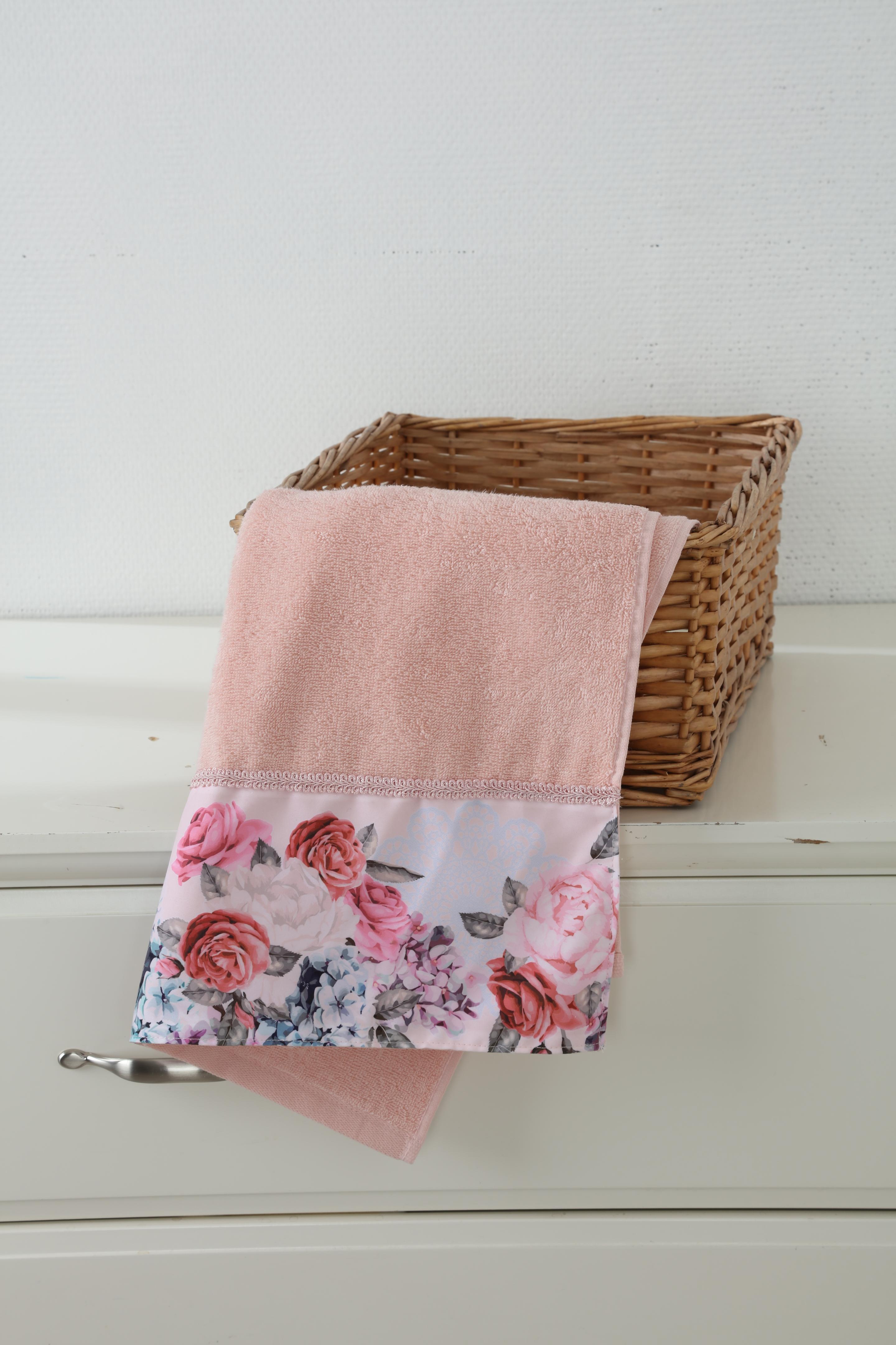Полотенце для лица, рук или ног Cherir Чайная Роза11195Мягкое махровое полотенце. Размер: 45*90см. Материал: 100% хлопок.