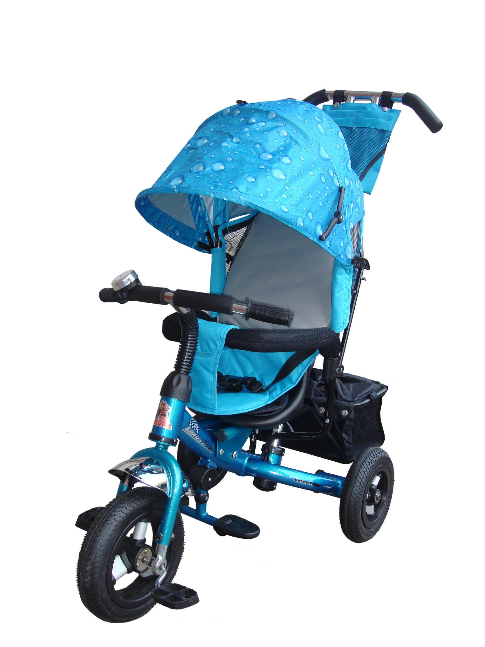 Велосипед Lexus Trike MS-0526, голубой велосипед для ребенка 3 года