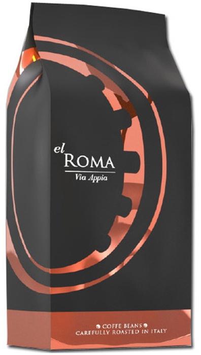 Кофе в зернах El Roma Via Appia брюки via appia брюки
