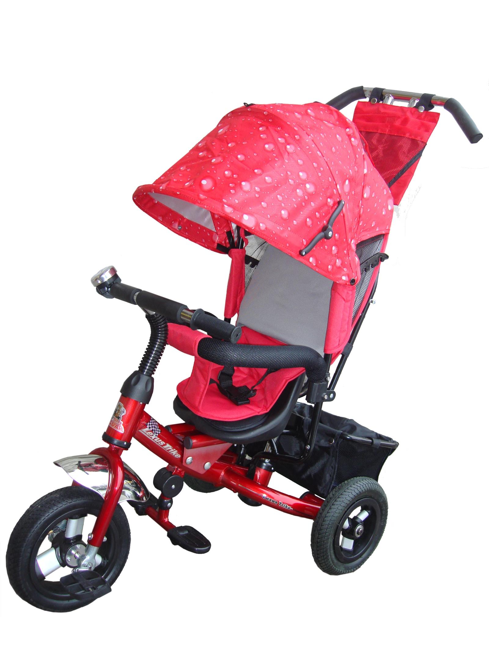 Велосипед Lexus Trike MS-0526, бордовый велосипед для ребенка 3 года