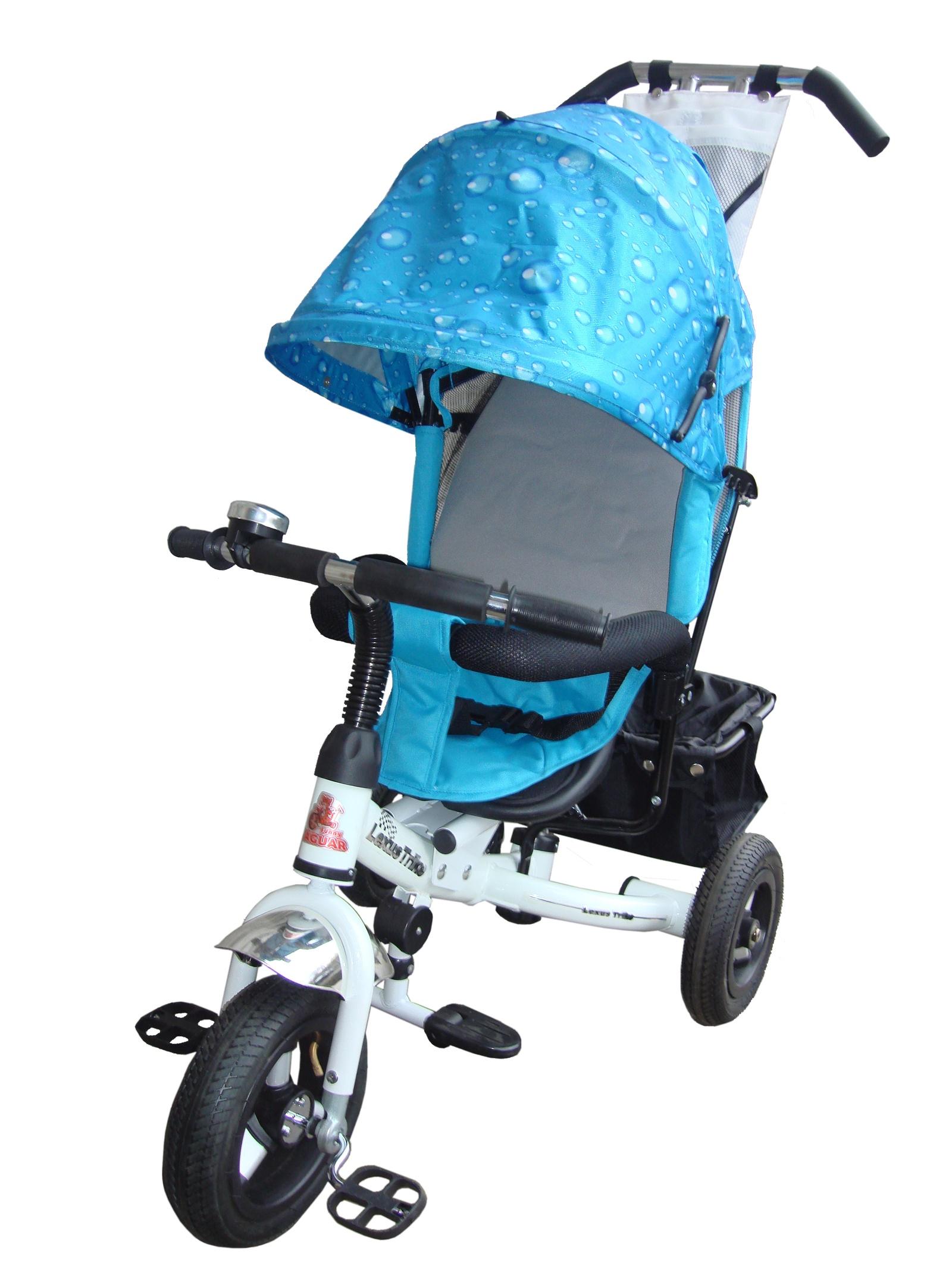 Велосипед Lexus Trike MS-0526, белый, голубой велосипед для ребенка 3 года