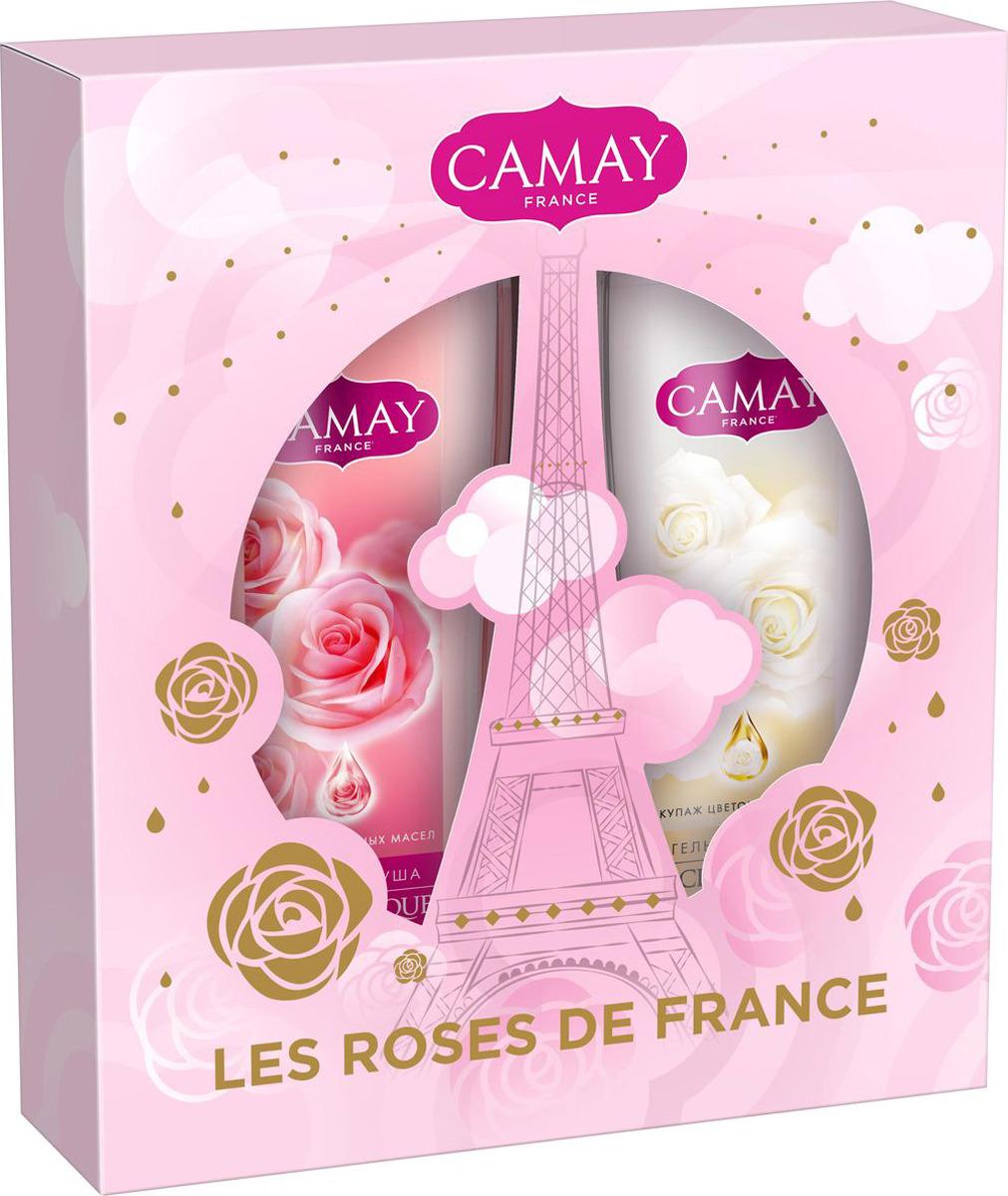 Подарочный набор Camay Французские розы camay гель для душа французская лаванда 250мл