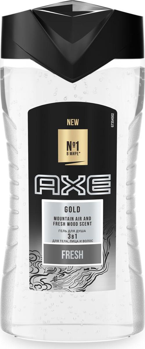 Axe гель для душа Gold, 250 мл шампунь гель для волос и тела axe gold 250 мл 67323608