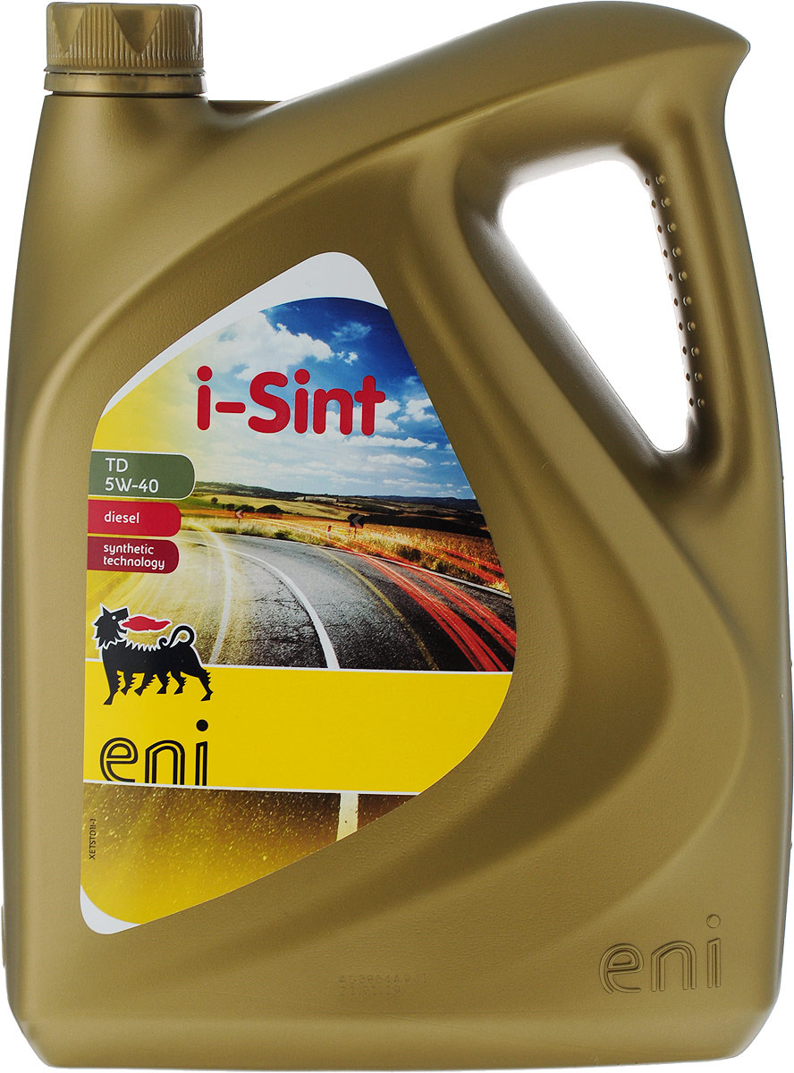 Моторное масло Eni i-Sint TD, синтетическое, 5W40, 4 л