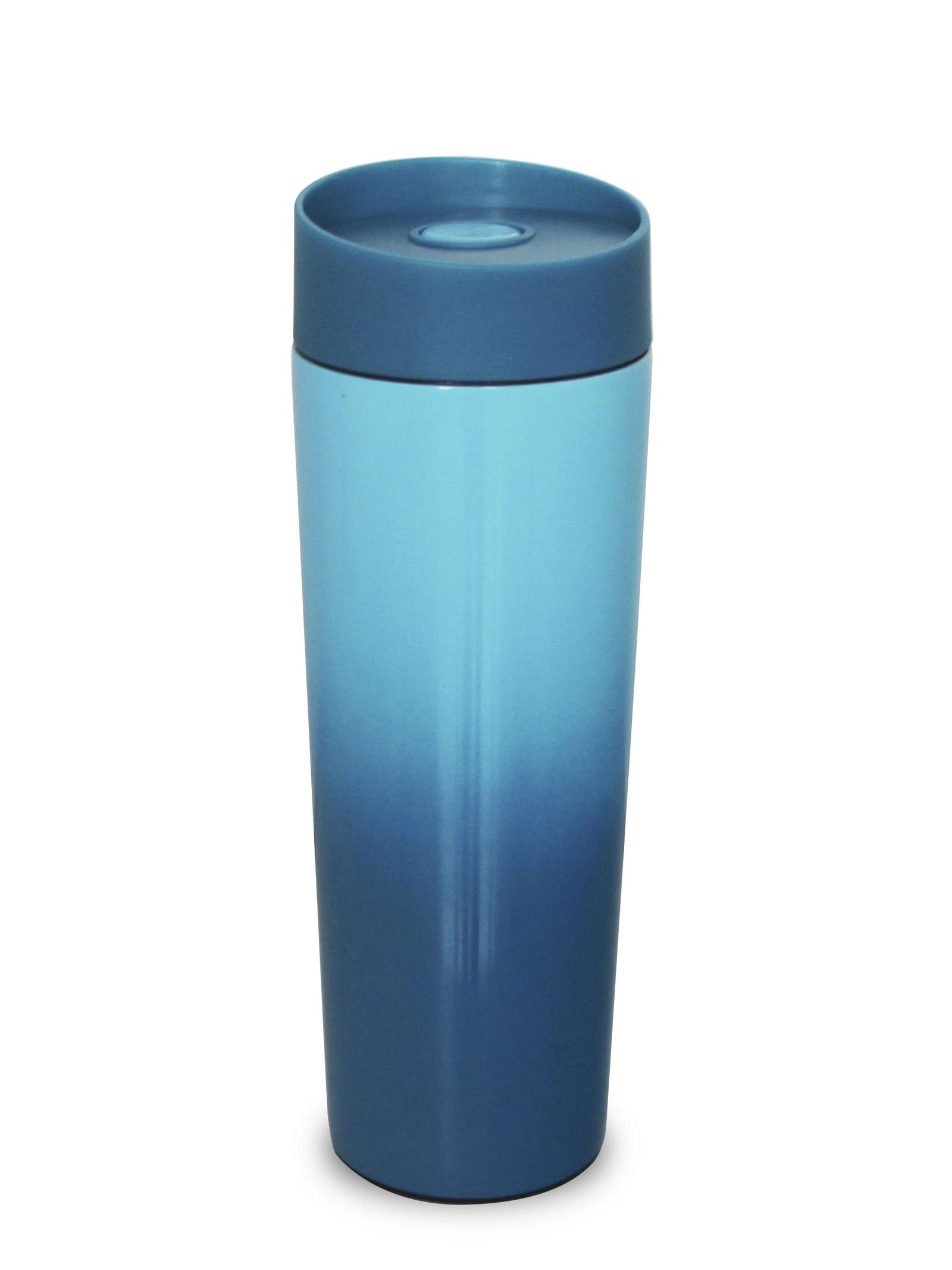 Термокружка GOOD SALE 10018, голубой