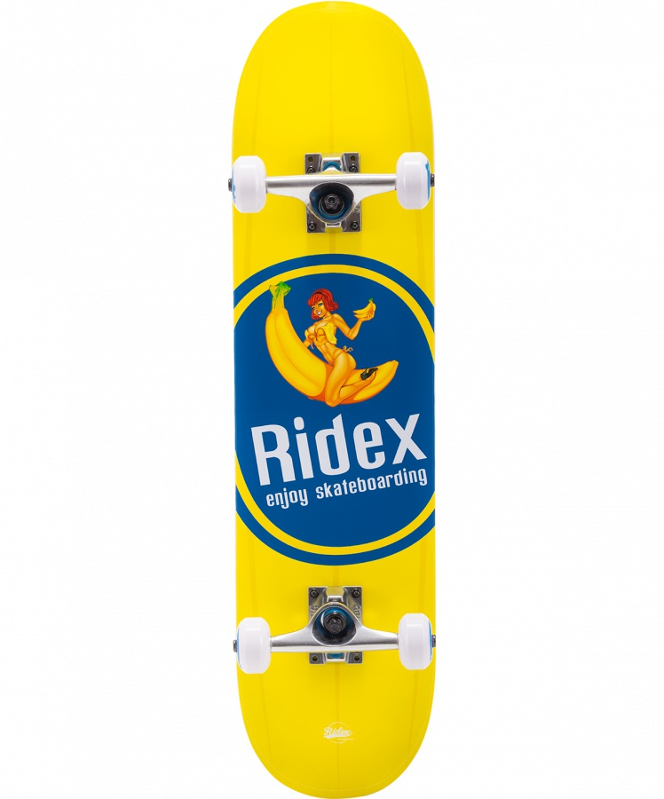 Скейтборд RIDEX Banjoy скейтборд четырёхколёсный ridex vulcan 60x45 мм серый ут 00009655