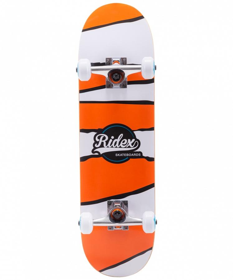 Скейтборд RIDEX 27.5?X7.5?, ABEC-5, Nemo