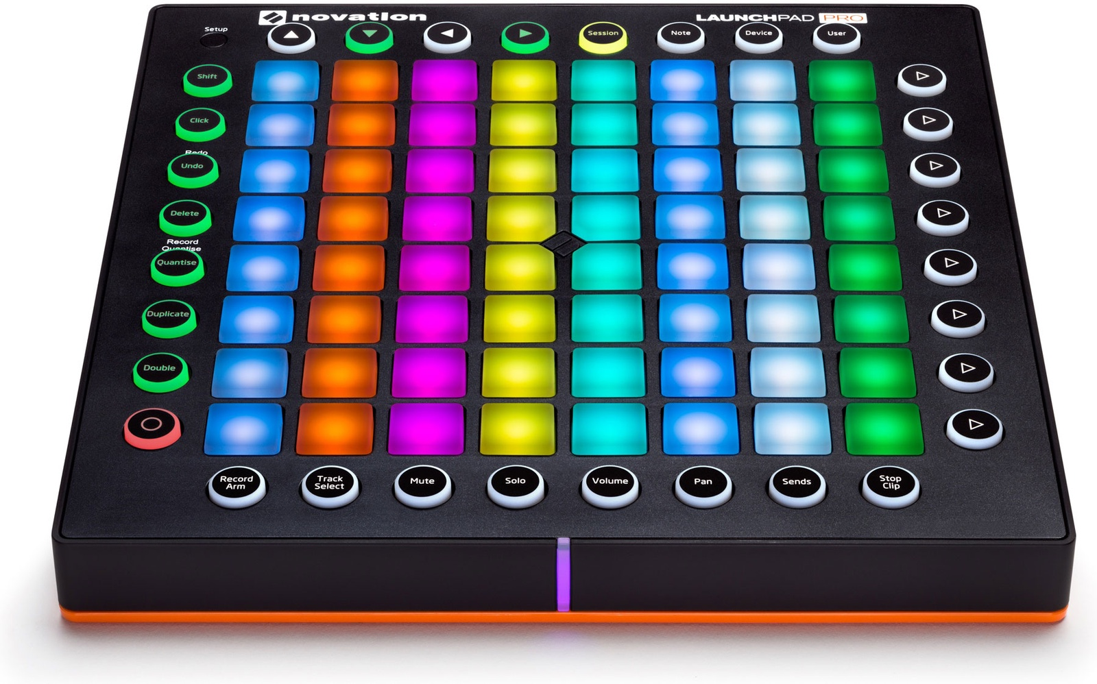 MIDI-контроллер NOVATION LAUNCHPAD PRO, черный midi контроллер novation launchpad pro