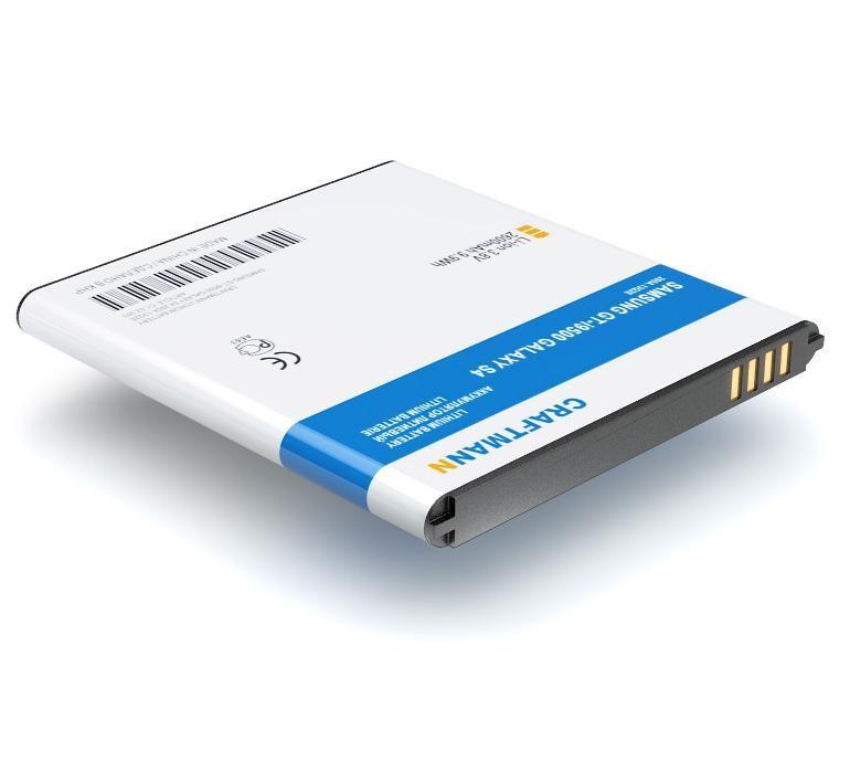 Аккумулятор для телефона Craftmann B600BE, B650AE, EB-B220AE с датчиком NFC для Samsung GT-i9500 Galaxy S4, i9295, i9502, i9505, i9506, i337, i537, M919, M919N, M919V, Altius, Fortius.