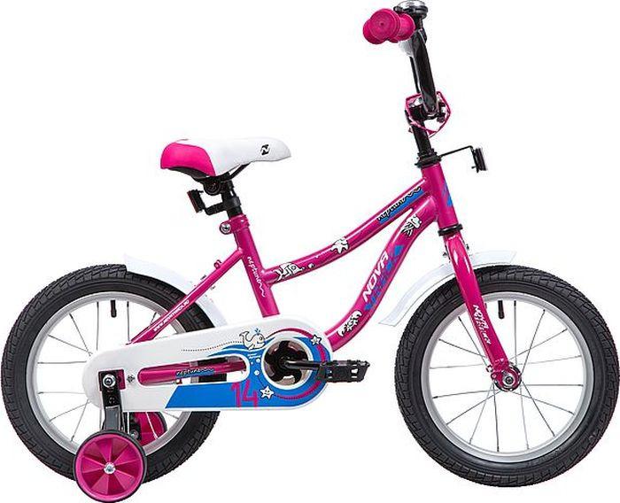 Велосипед Novatrack Neptune, розовый, 14