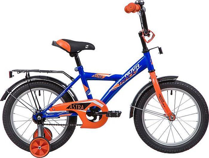 Велосипед Novatrack Astra, синий, 16