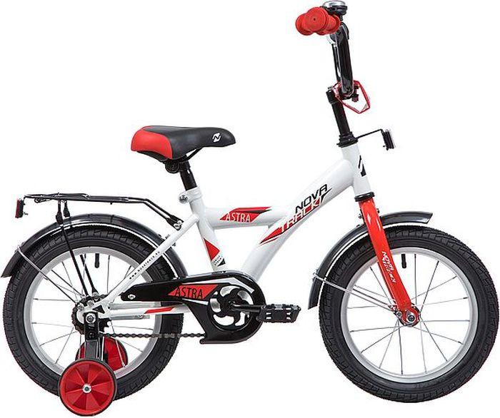 Велосипед Novatrack Astra, белый, 14