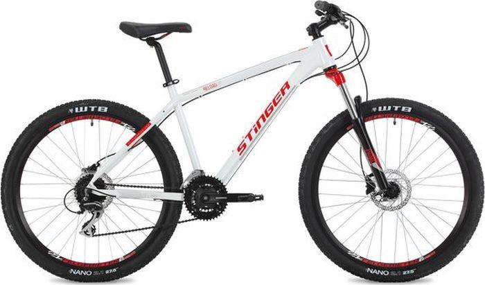 Велосипед Stinger Reload Evo, белый, 27,5, рама 16