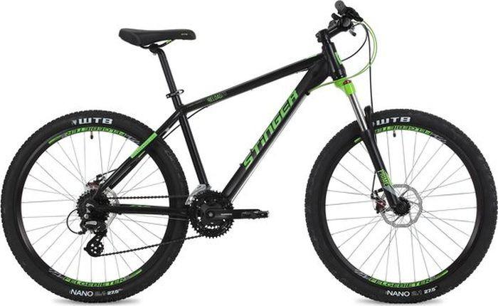 Велосипед Stinger Reload Std, черный, 27,5, рама 18