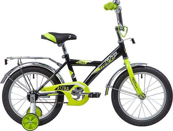Велосипед Novatrack Astra, черный, 16