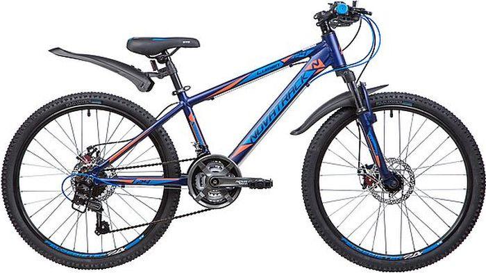 Велосипед Novatrack Lumen, синий, 24, рама 13 велосипед novatrack lumen синий 24 рама 13