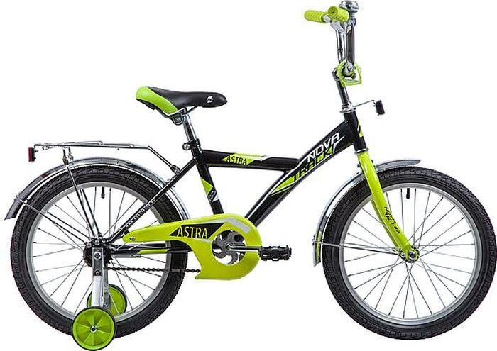 Велосипед Novatrack Astra, черный, 18