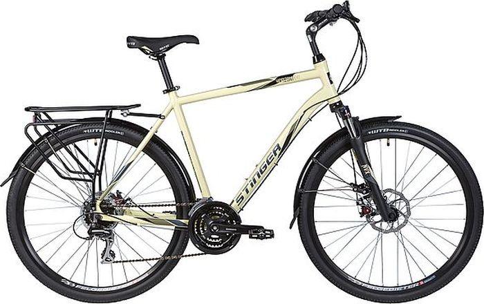 Велосипед Stinger Horizont Evo, бежевый, 28, 56