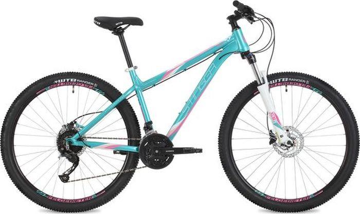 Велосипед Stinger Omega Std, зеленый, 27,5, рама 15