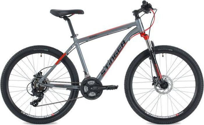цена на Велосипед Stinger Graphite Evo, серый, 26, рама 16