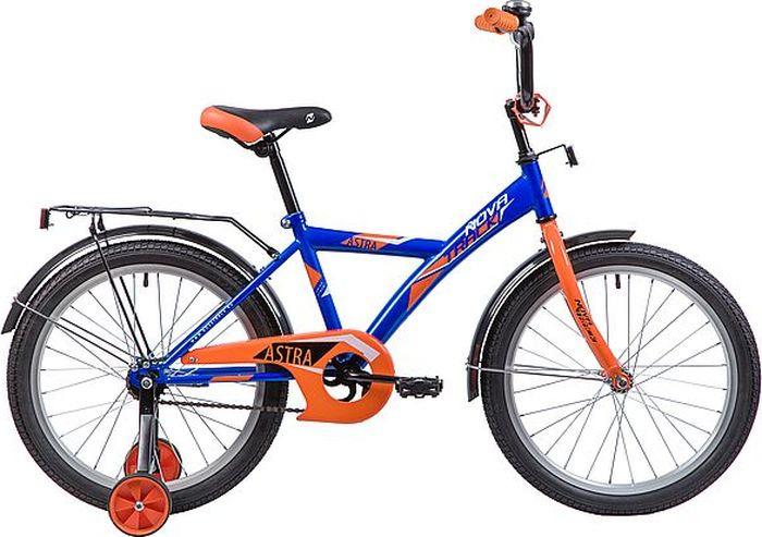 Велосипед Novatrack Astra, синий, 20