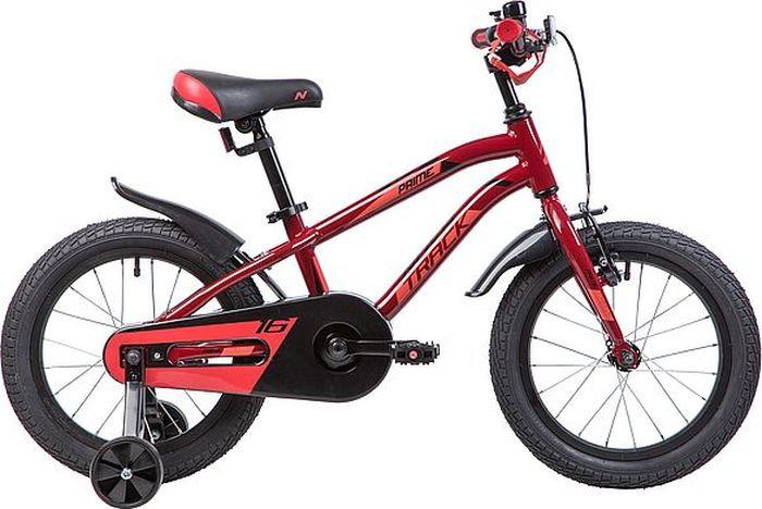 Велосипед Novatrack Prime, коричневый, 16167APRIME.BN9Novatrack Prime 16 - для самых активных и подвижных детишек. Дизайн и гемоетрия рамы велосипеда сделан в спортивном стиле, как впрочем и само название. Что бы ваш ребенок оставался сухим и чистым, на велосипед так же установили полноразмерные крылья. Такая модель отлично подойдет для детей от 3 до 5 лет. Рекомендуем!