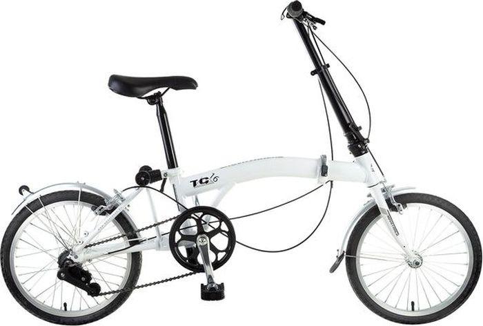 Велосипед Novatrack, складной, серый, 20
