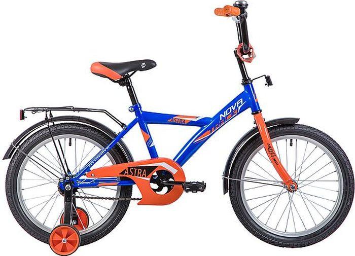 Велосипед Novatrack Astra, синий, 18