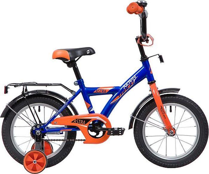 Велосипед Novatrack Astra, синий, 14