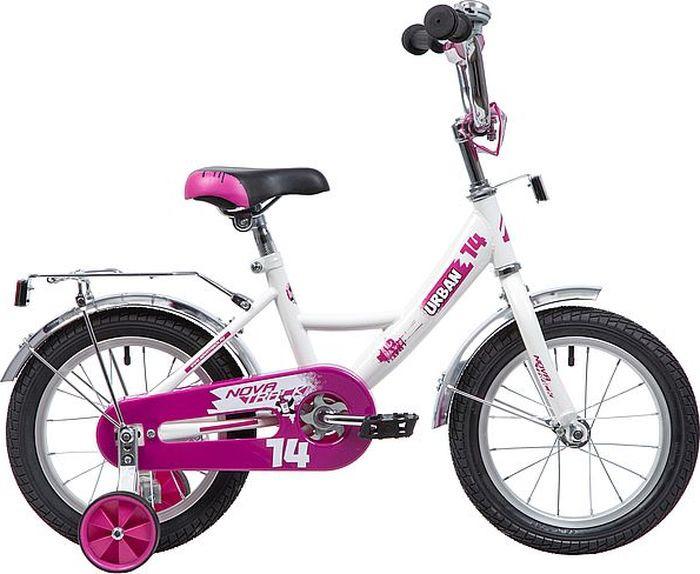 Велосипед Novatrack Urban, белый, 14 велосипед для малышей 3 5 лет 14 500 робот