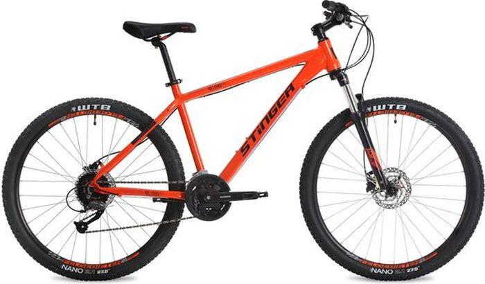 Велосипед Stinger Reload Pro, оранжевый, 27,5, рама 16