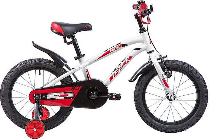Велосипед Novatrack Prime, белый, 16 велосипед novatrack prime белый 16